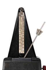 A metronome showing a regular rythym