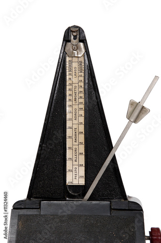 poster of A metronome showing a regular rythym