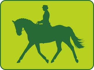 Dressurreiter green
