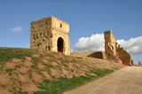 16th Century Merinid Tombs Ruins - Fes, Morocco poster