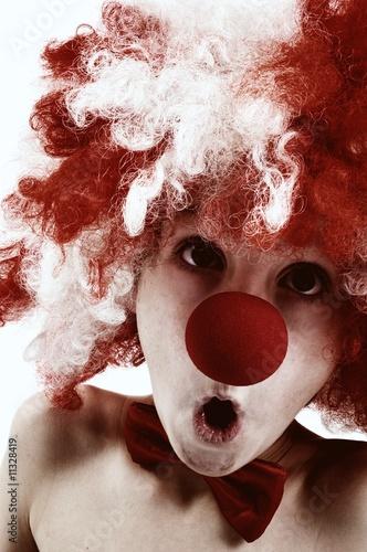 lustiger clown von nicole effinger lizenzfreies foto 11328419 auf. Black Bedroom Furniture Sets. Home Design Ideas