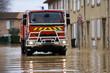 Inondation et sapeurs pompiers - 11329218