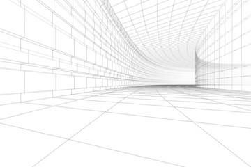 3D architectural construction
