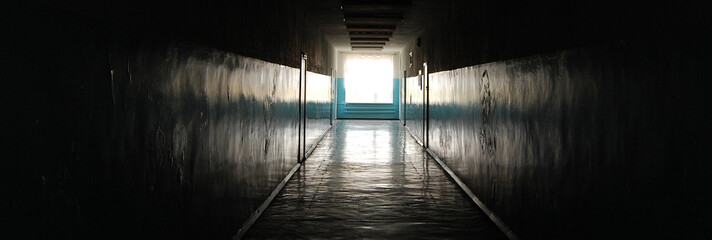 evel corridor in school