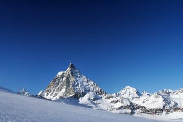 Swiss giant  Matterhorn