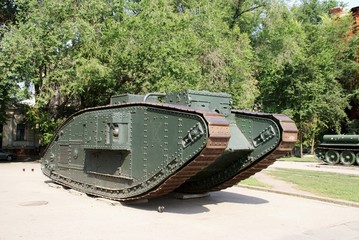 The Soviet tank of times of the first world war