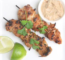 Thai Chicken Satays
