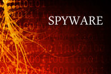 Spyware Abstract poster