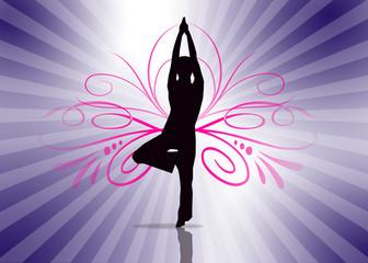 Yoga Shiluette