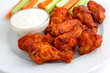 Buffalo chicken wings appetizer
