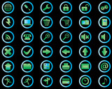 internet icons poster