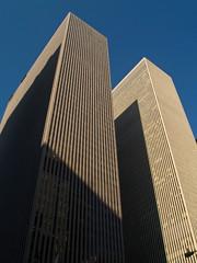 Skyscrapers, Blue Sky