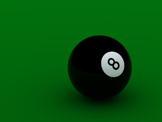 black pool ball high quality