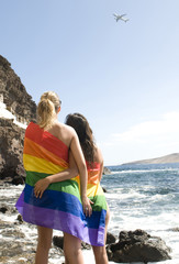 gays and lesbian travel around the world concept