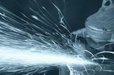 grinding sparks poster
