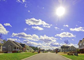 Beautiful New Homes and Sunshine