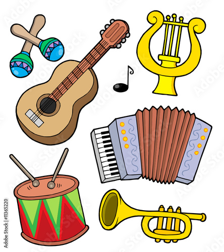 Music instruments collection 1