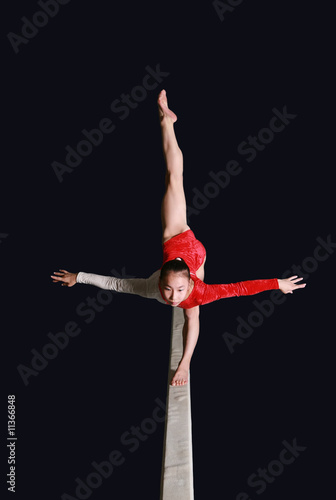 Balance beam Poster
