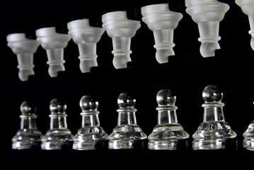 Pawns in chess box