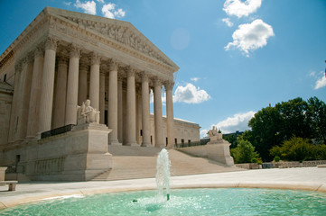 The Supreme Court of the United States in Washington, DC, USA