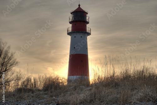 Fototapeten,leuchtturm,strand,schleswig-holstein,abendhimmel