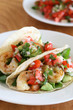 Shrimp Tacos with Tomato Salsa