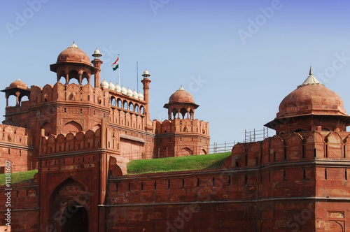 In de dag Delhi Red Fort, Delhi, India