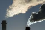 Dangerous toxic CO2 cloud poster