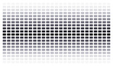 gray gradient background of small rectangles poster