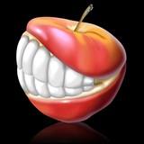 Fototapety apple smile