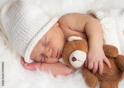 Leinwandbilder,adorable,baby,schön,decke