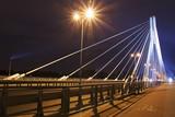 Warsaw Bridge by night - 11393091