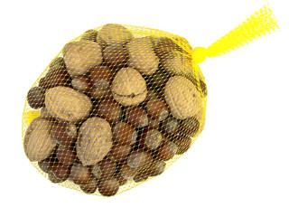 hazelnuts and walnuts