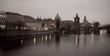 Vista del río en Praga