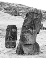 Moai heads 4