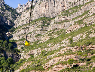 Tram to Montsarat Monastery