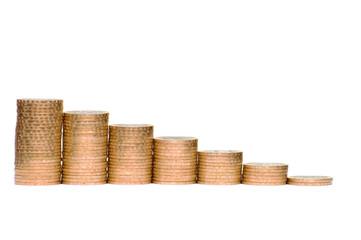 Some coins symbolize crisis