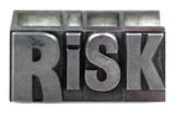 Letterpress Risk poster