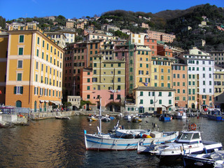 Porto di Camogli- Seaport of Camogli