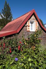 Case créole en bois, Hell-Bourg