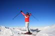 Skiurlaub - Bergpanorama