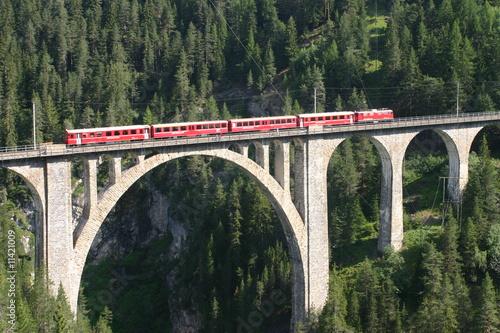 Rhätische Bahn - Wiesener Viadukt - 11421009