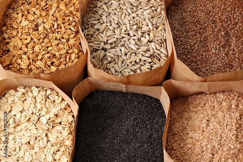 Plexiglas Granen Whole grains