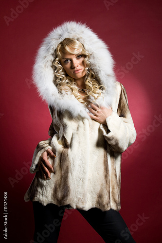 Woman And Furs