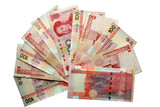 Hong Kong dollars and Chinese Yuan poster