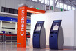 Leinwanddruck Bild - International airport terminal