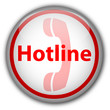 Hotline Button (white/red)
