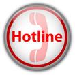 Hotline Button (white/red)