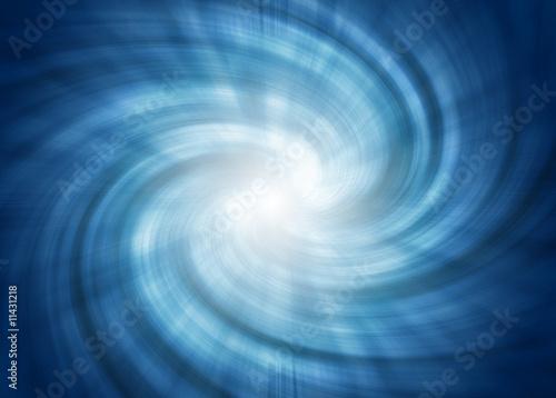 tunnel spirale blu - 11431218