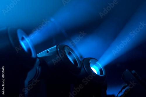 Foto op Plexiglas Licht, schaduw Scheinwerfer01